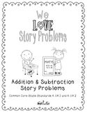 Create-Your-Own Story Problems {Differentiated}