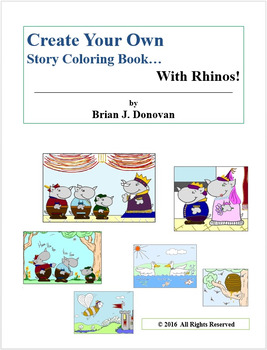 Create Your Own Story... With Rhinos!