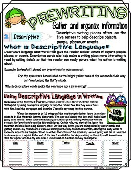 Create Your Own Superhero! Descriptive Paragraph Writing Assignment Booklet
