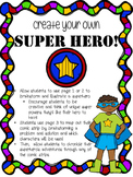 Create Your Own Superhero and Comic Strips
