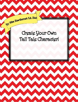 Create Your Own Tall Tale Character