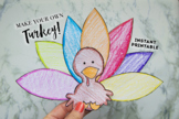 Create Your Own Thankful Turkey Printable