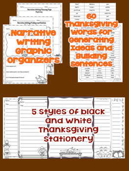 Thanksgiving Narrative Writing