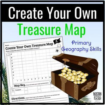 create your own treasure map by boston terrier teacher tpt