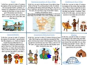 Create Your Own Tribe Project and Rubric