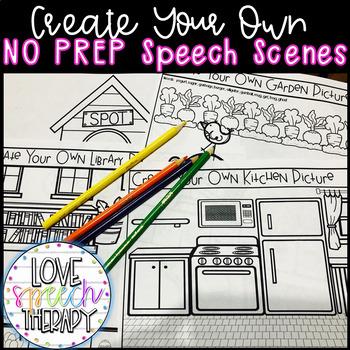 Create Your Own UNIQUE Speech Scene - NO PREP