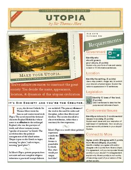 Create Your Own Utopia (Using Sir Thomas More's Utopia)