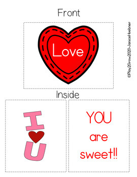 Create Your Own Valentine Card *Free Sample*