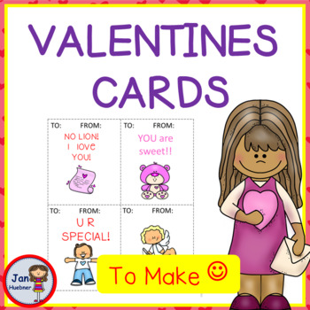 Create Your Own Valentine Cards