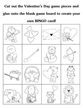 Create Your Own Valentine's Day BINGO Game