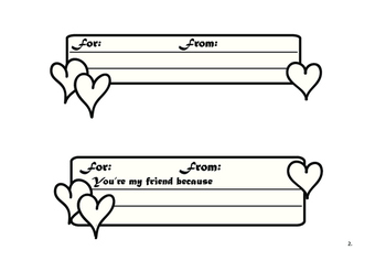 Create Your Own Valentine's Day Cards FREEBIE