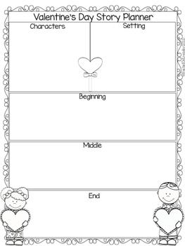 Valentine's Day Narrative Writing