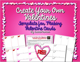 Valentine's Day Cards Templates - FREE Creative Activity