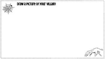 Create Your Own Villain: Halloween Fun for the ELA Classroom!