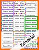 Create Your Own Word Wall Cards (Editable)