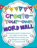 Create Your Own Word Wall {Editable!}