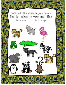 Create Your Own Zoo using Area and Perimeter