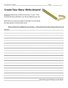 Create Your Story: Write Around