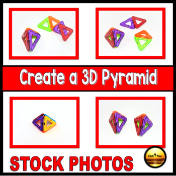 3D Shapes and Attributes STOCK PHOTOS Clip Art