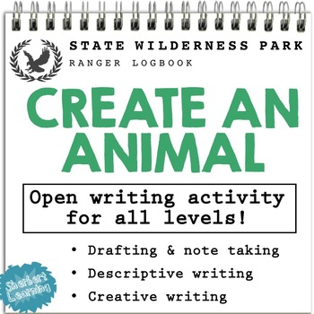 Create a Animal - descriptive, narrative and report writing activity!