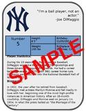 Create a Baseball Card - PPT or Google Slides