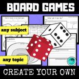 Create a Board Game