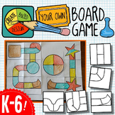 Create a Board Game-- STEAM Project