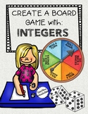 Create a Board Game for Integers - Math