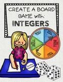 Create a Board Game for Integers - Math