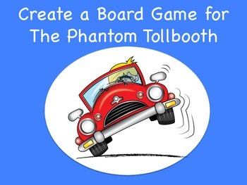 The Phantom Tollbooth Board Game