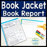 Book Jacket Book Report: Book Jacket template - Writing, Art & Reading combined!