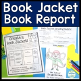 Book Jacket: Book Jacket Book Report template - Writing, A