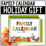 Family Calendar Gift for the Holidays