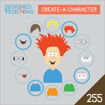 Create-a-Character Digital ClipArt