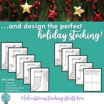 Create a Character Stocking {A Creative Design and Writing Holiday Activity}