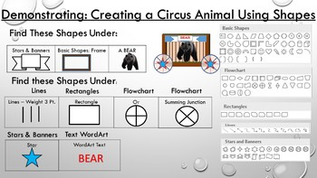 Create a Circus Animal Project