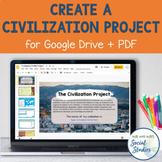 Create a Civilization Project for Google Drive + PDF