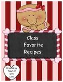 Create a Class Cookbook