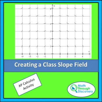 Calculus:  Create a Class Slope Field