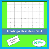 Calculus - Creating a Class Slope Field