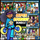 Create-a-Classroom MEGA Bundle! 500+ Pieces BW/COLOR Clip-Art!