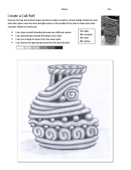 Create a Coil Pot