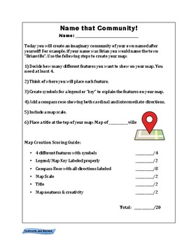 Create a Community Activity: Map Skills