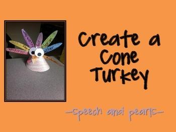 Create a Cone Turkey