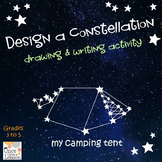 Design a Constellation! Writing and Drawing Activity - Gra