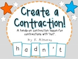 Create a Contraction! A hands-on contraction lesson.