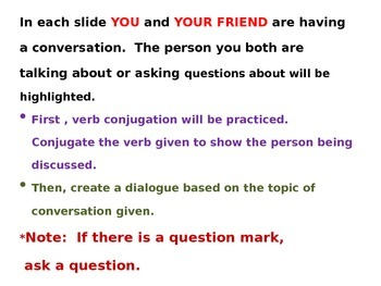 Create a Conversation and Grammar Practice Using Speaking Heads