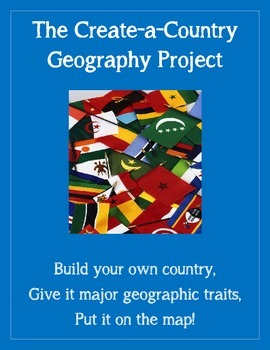 the createacountry geography skills project tpt