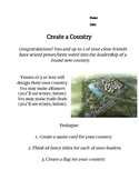Create a Country! -  History & Social Studies Simulation *