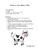 Create a Cow Long Division Game!